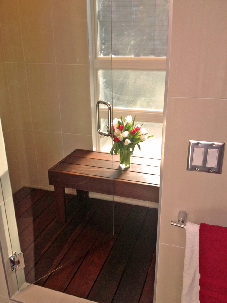 Shower Bench small