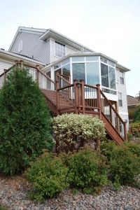 Deck and Windows