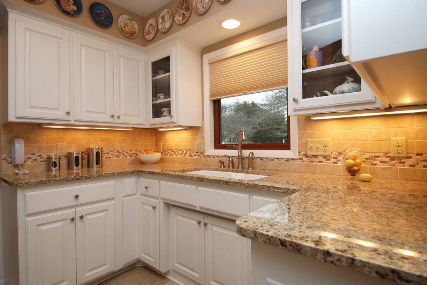 Space Above Kitchen Cabinets How to Utilize the Space Above Kitchen Cabinets   The Chuba Company